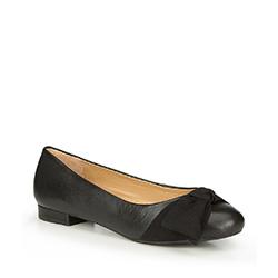 Frauen Schuhe, schwarz, 87-D-714-1-39, Bild 1