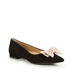 Frauen Schuhe, schwarz, 87-D-716-1-38, Bild 1