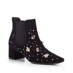 Frauen Schuhe, schwarz, 87-D-752-1-40, Bild 1
