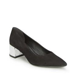 Frauen Schuhe, schwarz, 87-D-758-1-38, Bild 1