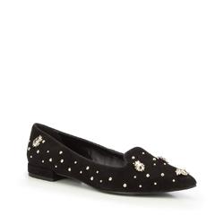 Frauen Schuhe, schwarz, 87-D-760-1-38, Bild 1