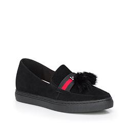 Frauen Schuhe, schwarz, 87-D-957-1-36, Bild 1
