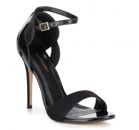 Frauen Schuhe, schwarz, 88-D-255-1-35, Bild 1