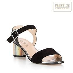 Frauen Schuhe, schwarz, 88-D-405-1-38, Bild 1