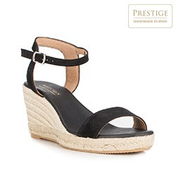 Frauen Schuhe, schwarz, 88-D-503-1-37, Bild 1