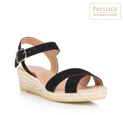 Frauen Schuhe, schwarz, 88-D-504-1-35, Bild 1