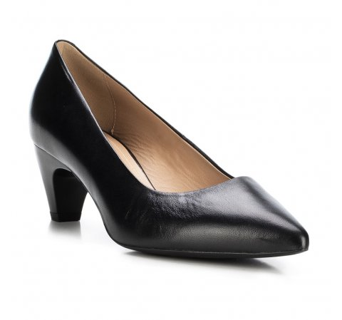 Frauen Schuhe, schwarz, 88-D-601-1-38, Bild 1
