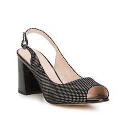 Frauen Schuhe, schwarz, 88-D-966-1-38, Bild 1