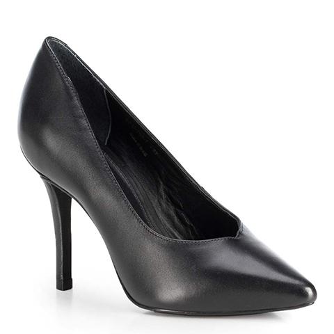 Damenschuhe, schwarz, 89-D-753-5-41, Bild 1