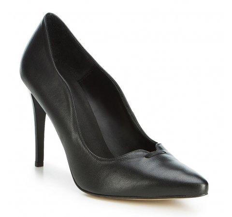 Damenschuhe, schwarz, 89-D-850-1-36, Bild 1