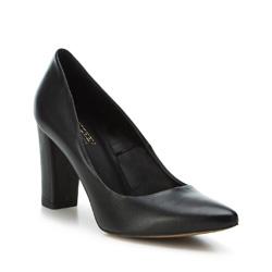 Damenschuhe, schwarz, 89-D-851-1-36, Bild 1