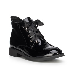 Damenschuhe, schwarz, 89-D-951-1-37, Bild 1