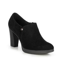 Damenschuhe, schwarz, 89-D-952-1-39, Bild 1