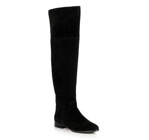 Damenschuhe, schwarz, 89-D-964-1-37, Bild 1