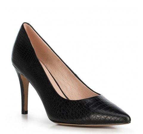Damenschuhe, schwarz, 90-D-950-1-38, Bild 1