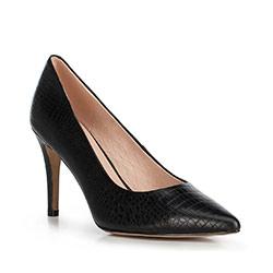 Damenschuhe, schwarz, 90-D-950-1-37, Bild 1