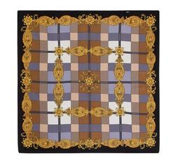 Schal, schwarz-gold, 86-7D-S11-X9, Bild 1
