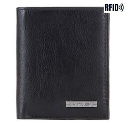 Brieftasche, schwarz-grau, 26-1-423-18, Bild 1