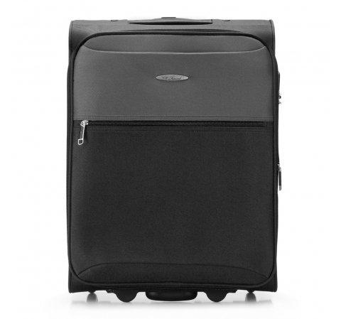 Kleiner Koffer, schwarz-grau, V25-3S-241-99, Bild 1