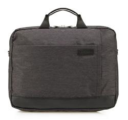 Laptoptaschen, schwarz-grau, 85-3P-108-1, Bild 1