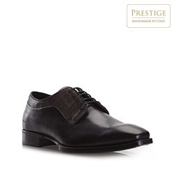 Männer Schuhe, schwarz-grau, 79-M-082-8-44, Bild 1