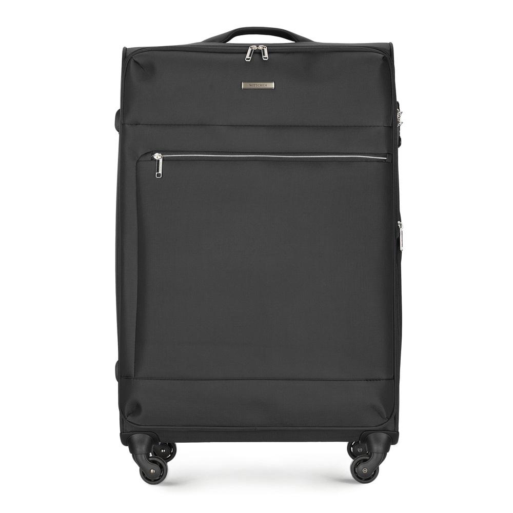 Großer Koffer, schwarz, 56-3S-623-10, Bild 1