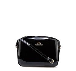 Handtasche, Umhängetasche, schwarz, 25-4-589-1, Bild 1