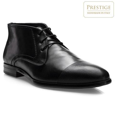 Herren Stiefel, schwarz, 83-M-305-4-43, Bild 1
