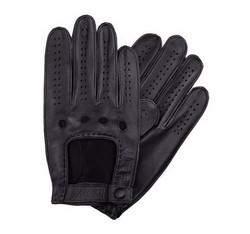 Herrenhandschuhe, schwarz, 46-6-386-1-S, Bild 1