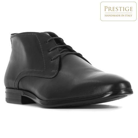 Herrenschuhe, schwarz, 83-M-308-1-40, Bild 1