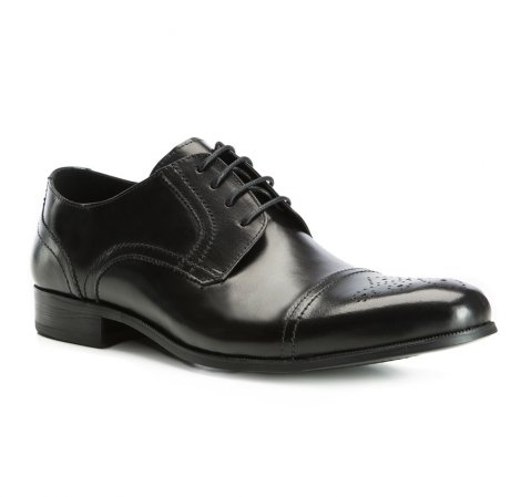 Herrenschuhe, schwarz, 83-M-800-1-40, Bild 1