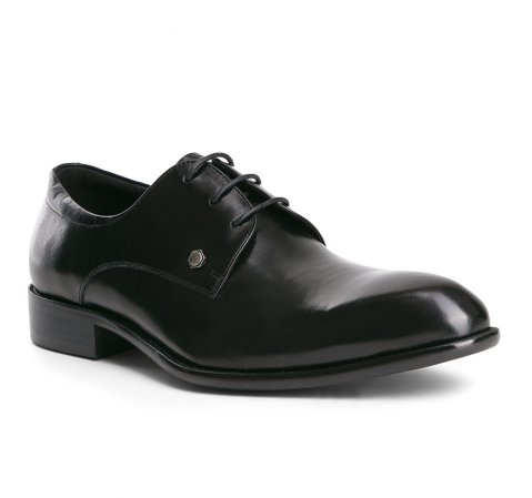 Herrenschuhe, schwarz, 84-M-807-1-40, Bild 1