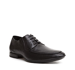 Männer Schuhe, schwarz, 84-M-815-1-44, Bild 1