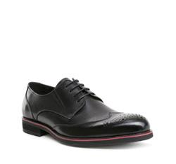 Herrenschuhe, schwarz, 84-M-914-1-41, Bild 1