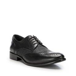 Herrenschuhe, schwarz, 86-M-054-1-40, Bild 1