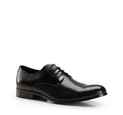 Herrenschuhe, schwarz, 86-M-801-1-43, Bild 1