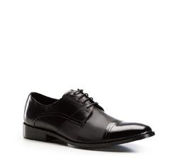 Herrenschuhe, schwarz, 86-M-814-1-43, Bild 1