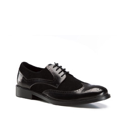 Herrenschuhe, schwarz, 86-M-817-1-41, Bild 1