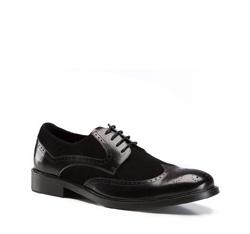 Herrenschuhe, schwarz, 86-M-817-1-42, Bild 1