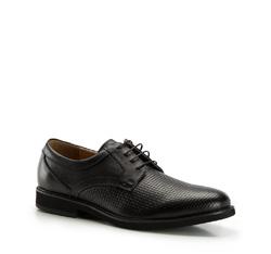 Herrenschuhe, schwarz, 86-M-917-1-45, Bild 1