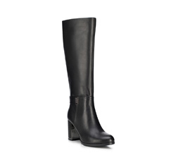 Damenschuhe, schwarz, 89-D-962-1-36, Bild 1