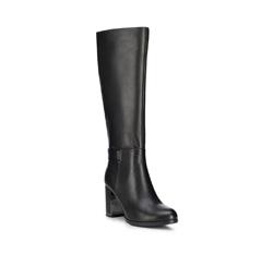 Damenschuhe, schwarz, 89-D-962-1-39, Bild 1