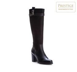 Kniehohe Stiefel, schwarz, 83-D-802-1-41, Bild 1
