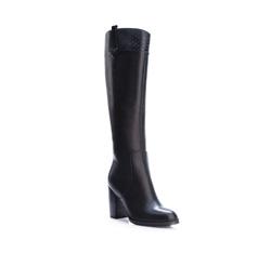 Kniehohe Stiefel, schwarz, 83-D-908-1-39, Bild 1