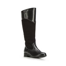 Kniehohe Stiefel für Damen, schwarz, 87-D-204-1-38, Bild 1