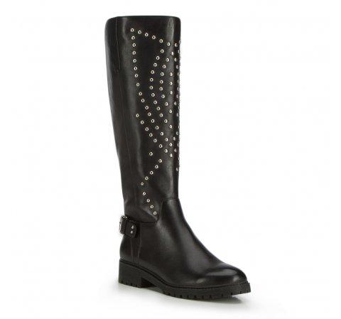 Kniehohe Stiefel für Damen, schwarz, 87-D-900-1-35, Bild 1
