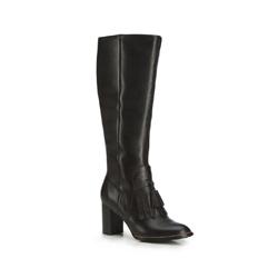 Kniehohe Stiefel für Damen, schwarz, 87-D-901-1-35, Bild 1