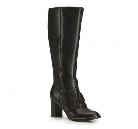 Kniehohe Stiefel für Damen, schwarz, 87-D-901-1-40, Bild 1
