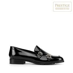 Lackledermonk- Schuhe für Damen, schwarz, 93-D-107-1-39_5, Bild 1