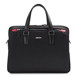 Laptoptasche, schwarz, 86-3U-200-1, Bild 1